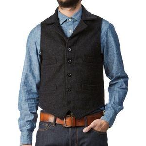 Vintage Filson Western Vest Wool Made USA